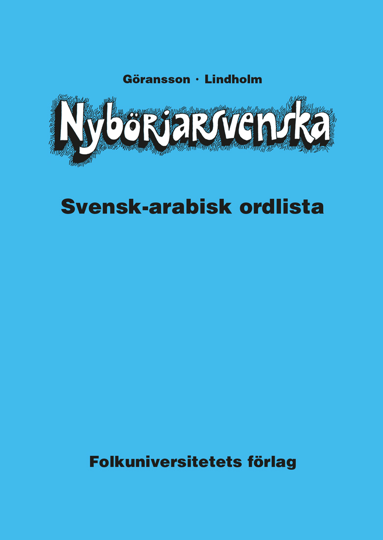 Nybörjarsvenska svensk-arabisk ordlista
